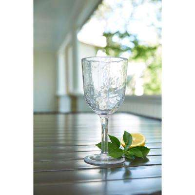 Acrylic 16 oz. Clear Goblet (Set of 4)