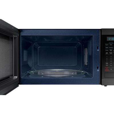 1.9 cu. ft. Countertop Microwave with Sensor Cook in Fingerprint Resistant Black Stainless Steel