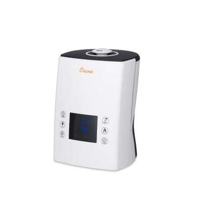Classic Digital Warm and Cool Mist Humidifier in White
