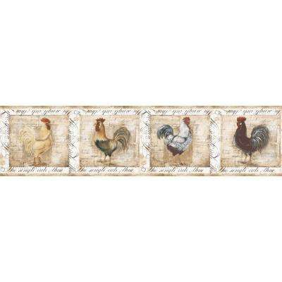 6 in. Rooster Border