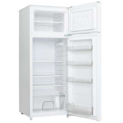 7.4 cu. ft. Apartment Size Top Freezer Refrigerator in White