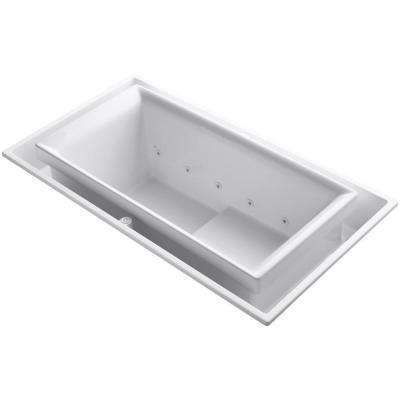 Sok 6.25 ft. Whirlpool Tub in White