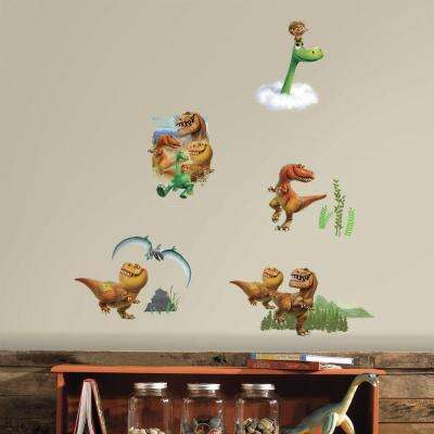 5 in. W x 11.5 in. H Good Dinosaur Peel and Stick Wall Decal