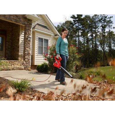150 MPH 233 CFM 7 Amp Electric Leaf Blower/Sweeper