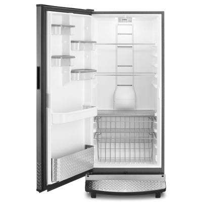 17.8 cu. ft. Rolling Freezerless Refrigerator in Black