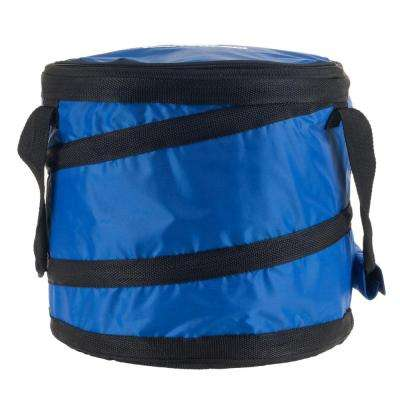 28 Can Capacity Portable Blue Insulated Cooler