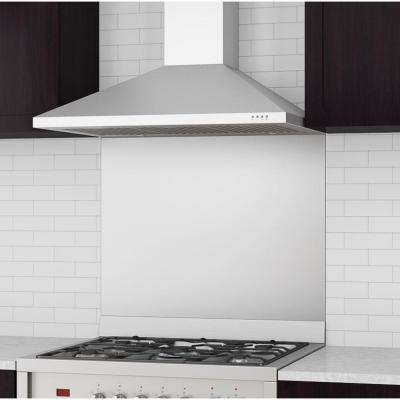 Rapido IV 36 in. Wall-Mounted Convertible Range Hood in Stainless Steel