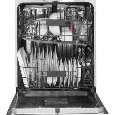 Front Control Dishwasher in Stainless Steel with Stainless Steel Tub and Steam Prewash, 46 dBA