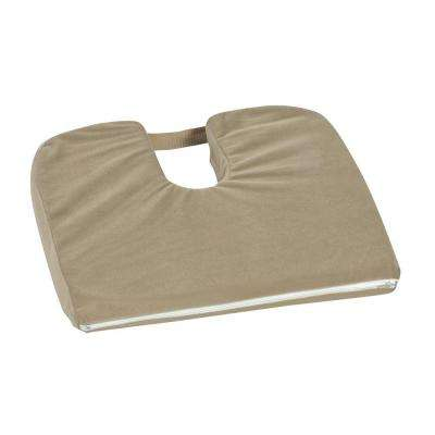 MABIS DMI Healthcare Sloping Coccyx Cushion with Camel