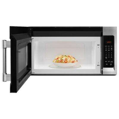 30 in. W 1.7 cu. ft. Over the Range Microwave Hood in Fingerprint Resistant Stainless Steel