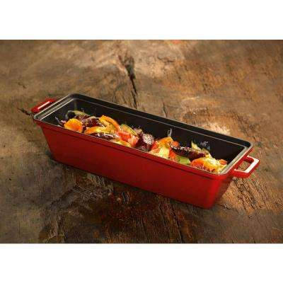 Signature Enameled Cast Iron 1.1 Qt. Terrine-Bread Pot in Cayenne Red