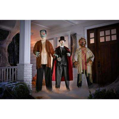 7 ft. Classic Monster Set with Wireless Sensor (Set of 3)