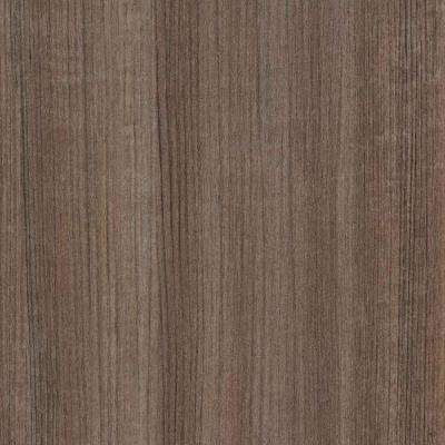 60 in. x 144 in. Laminate Sheet in Studio Teak Linearity
