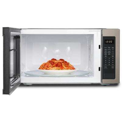 2.2 cu. ft. Countertop Microwave in Sunset Bronze with 1,200-Watt Cooking Power