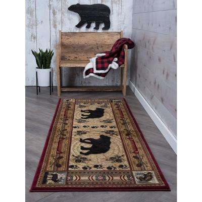 Nature Brown 3 ft. x 10 ft. Runner Rug