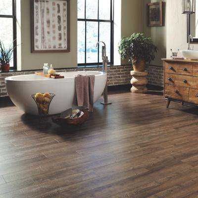 Fincrest Brown Oak 12 mm Thick x 6-1/16 in. Wide x 50-2/3 in. Length Laminate Flooring (18.42 sq. ft. / case)