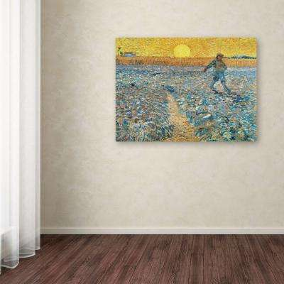 "14 in. x 19 in. ""Sower 1888"" Canvas Art"