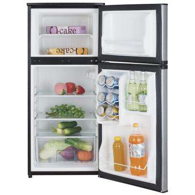 4.3 cu. ft. Mini Fridge in Stainless Steel