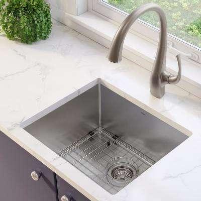 Standart PRO Undermount Stainless Steel 21 in. Single Bowl Kitchen Sink