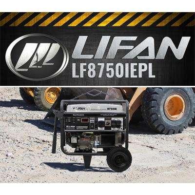 Platinum Series 8,750/8,000-Watt Gasoline Powered with Electric Start Clean Power Portable Generator
