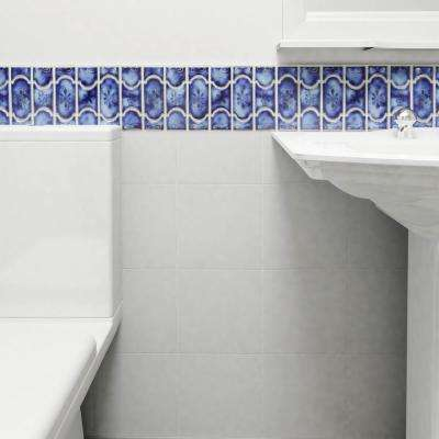 Montego Sapphire 12-1/4 in. x 12-1/2 in. x 5 mm Porcelain Mosaic Tile