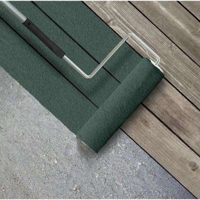 5 gal. #SC-114 Mountain Spruce Textured Solid Color Exterior Wood and Concrete Coating