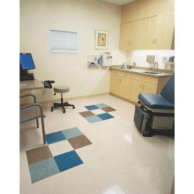 Imperial Texture VCT 12 in. x 12 in. Teal Standard Excelon Commercial Vinyl Tile (45 sq. ft. / case)