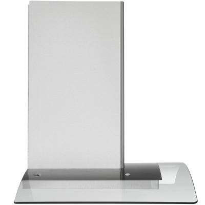 36 in. 600 CFM Wall Mount Glass Canopy Range Hood in Stainless Steel