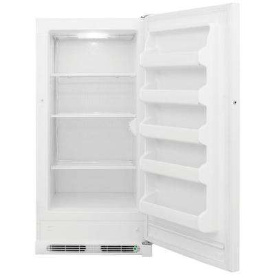 14.4 cu. ft. Upright Freezer in White