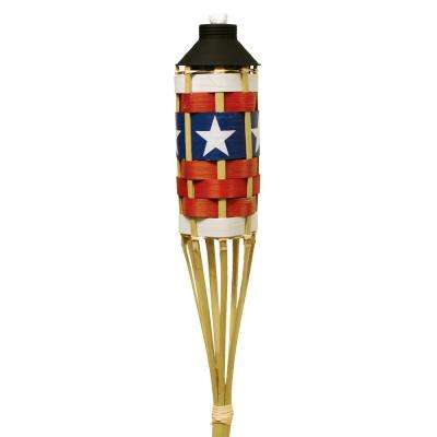 57 in. Bamboo Americana Torch (4 pack)