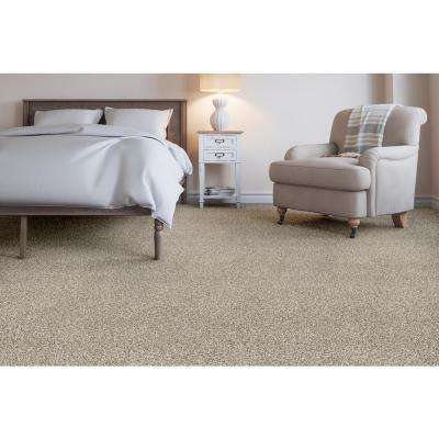 Wholehearted I - Color Raw Linen Twist 12 ft. Carpet