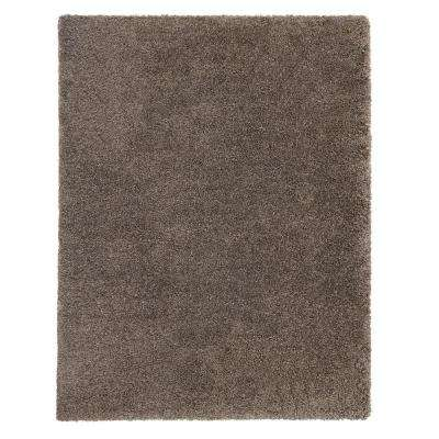 Hanford Shag Light Brown 5 ft. 3 in. x 7 ft. 4 in. Area Rug