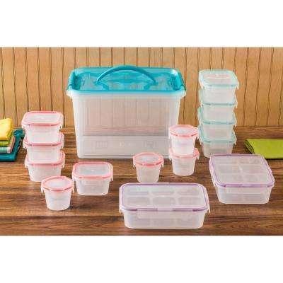 Airtight 30-Piece Plastic Storage Set