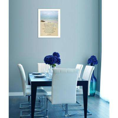 "10 in. x 14 in. ""Sea Fever"" by Trendy Decor 4U Printed Framed Wall Art"