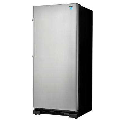 30 in W 17.0 cu. ft. Freezerless Refrigerator in Stainless Steel Counter Depth