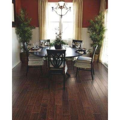 Steadman Mocha Hickory 3/8 in. Thick x 5 in. Wide x Random Length Engineered Hardwood Flooring (28.25 sq. ft. / case)