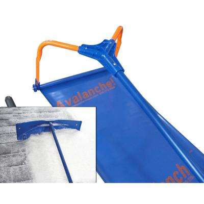 1000 Combo - 500 Roof Snow Removal System and SnowRake Deluxe interchangeable Rake Head