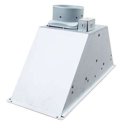 ESSEV Series 28 in. ENERGY STAR Certified Insert Range Hood Power Pack with Light in Stainless Steel