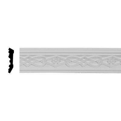 1-5/8 in. x 2-3/4 in. x 94-1/2 in. Polyurethane Loera Crown Moulding