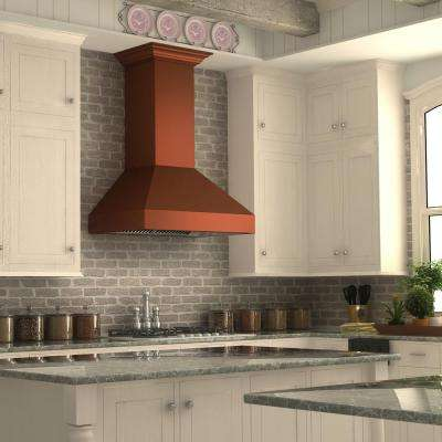 Charmant 1200 CFM Wall Mount Range Hood In Copper