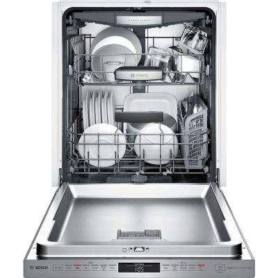 800 Series Top Control Tall Tub Pocket Handle Dishwasher in Stainless Steel with Stainless Steel Tub, 42dBA