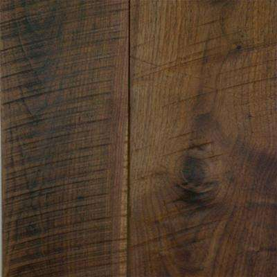 Take Home Sample Black Walnut Tongue and Groove Printed Strand Bamboo Flooring - 5 in. x 7 in.