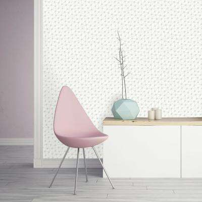 Bobby Berk Connect Washed on White Self-Adhesive Removable Wallpaper