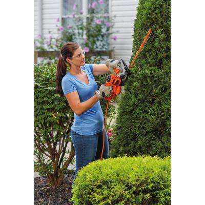 3.2 Amp Corded Electric 17 in. Hedge Trimmer