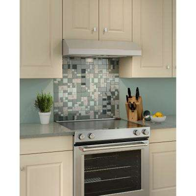 Glacier BCSEK1 30 in. Convertible Under Cabinet Range Hood with Light in Stainless Steel, ENERGY STAR*