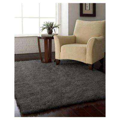 Solstice Shag Weathered Grey 7 ft. x 10 ft. Area Rug