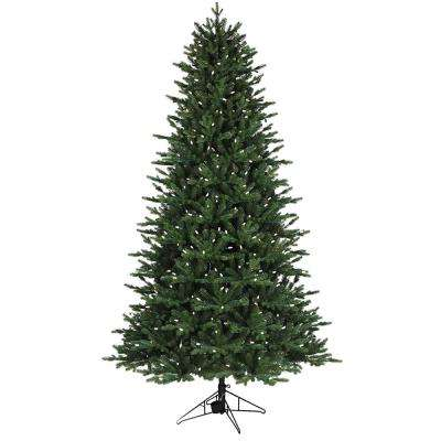 7.5 ft. 1-Plug Aspen fir Artificial Christmas Tree with RGB Lights