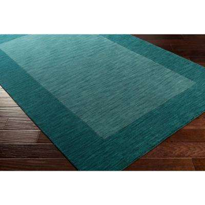 Piedmont Park Francis Teal 5 ft. x 8 ft. Indoor Area Rug