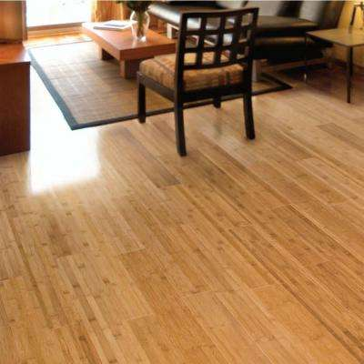 Horizontal Toast 5/8 in. Thick x 3-3/4 in. Wide x 37-3/4 in. Length Solid Bamboo Flooring (566.16 sq. ft. / pallet)
