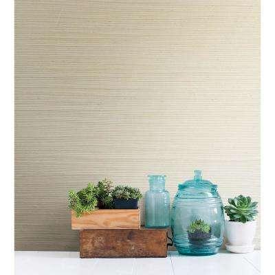 Kostya Fog Grasscloth Wallpaper Sample